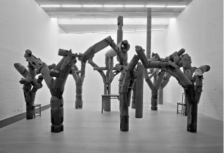 """Fragments"" sculpture by Ai Weiwei"